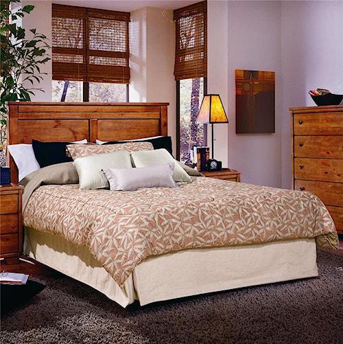 Progressive Furniture Diego Full/Queen Panel Headboard