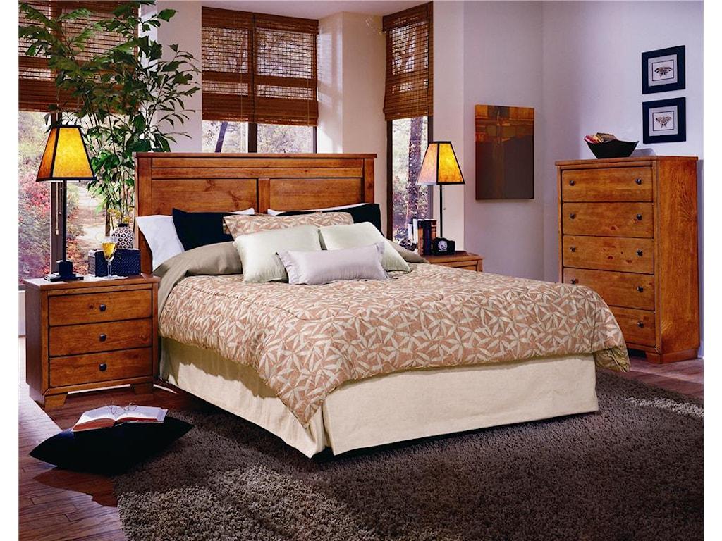 Progressive Furniture DiegoFull/Queen Panel Headboard