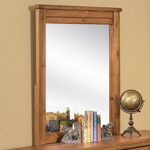 Progressive Furniture Diego Dresser Mirror