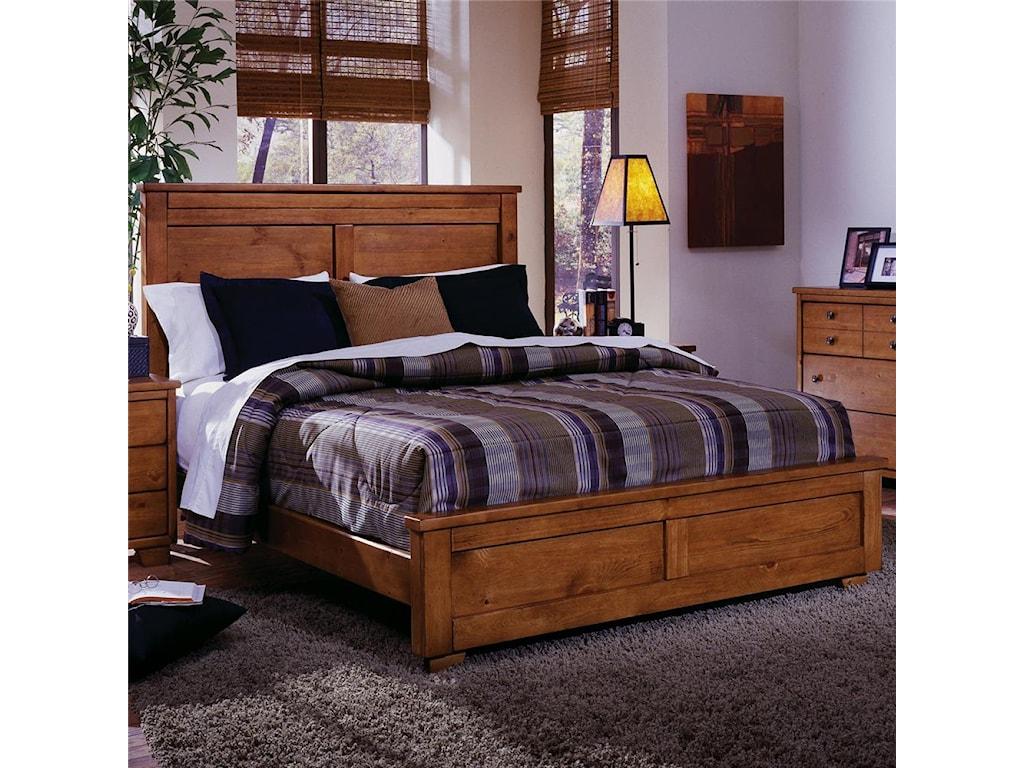 Progressive Furniture DiegoKing Panel Bed
