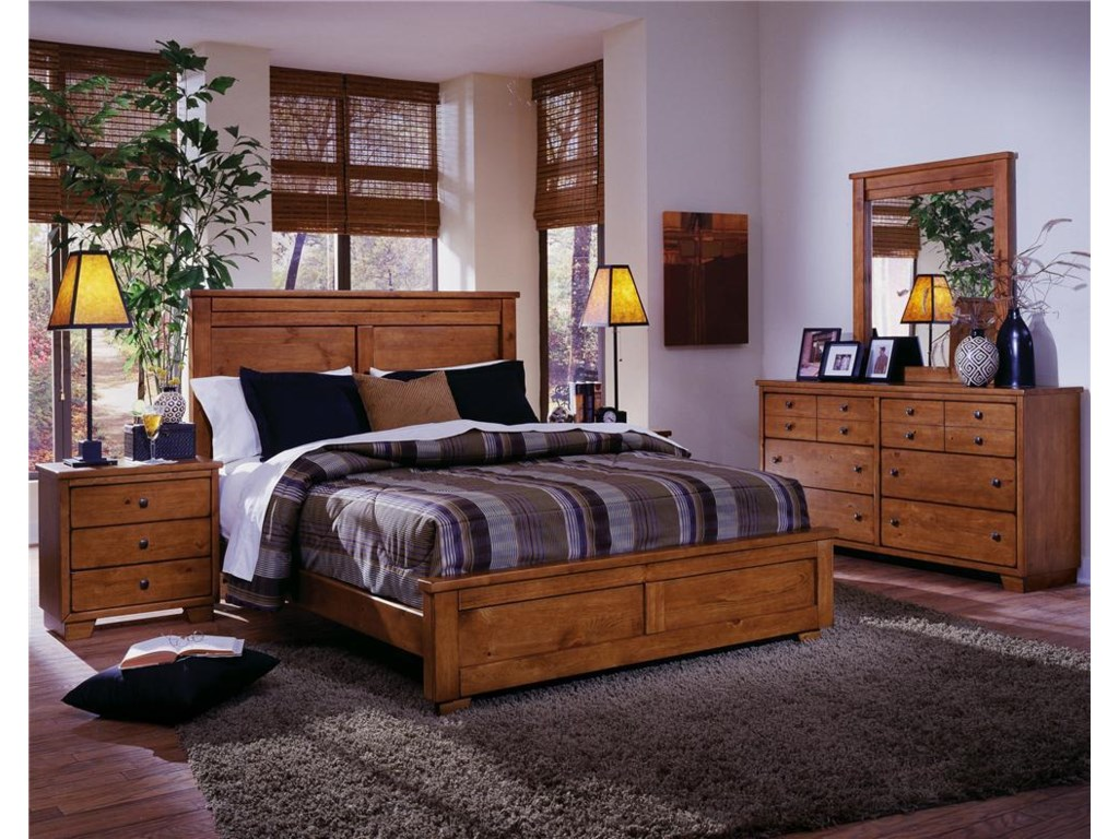 Progressive Furniture DiegoKing Panel Bed