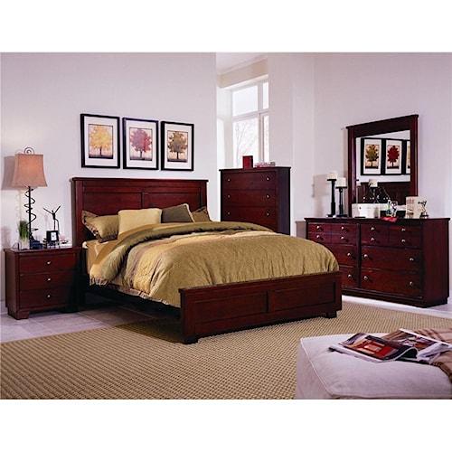 Progressive Furniture Diego Full Bedroom Group