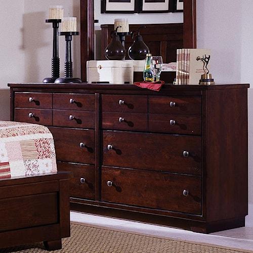 Progressive Furniture Diego Drawer Dresser