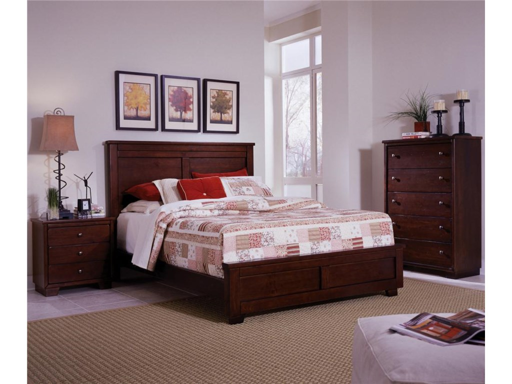 Progressive Furniture DiegoFull Panel Bed