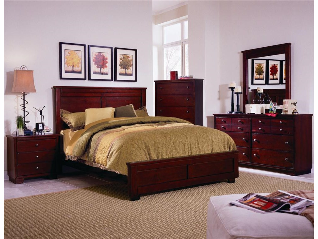 Progressive Furniture DiegoFull Panel Bed