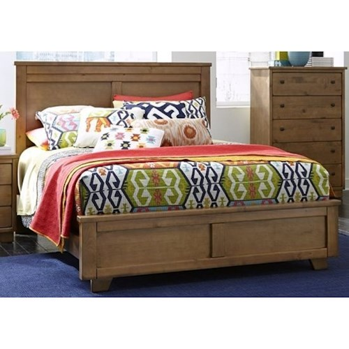 Progressive Furniture Diego Casual Full Panel Bed