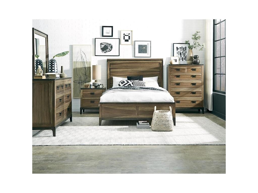 Progressive Furniture EditorDresser & Mirror