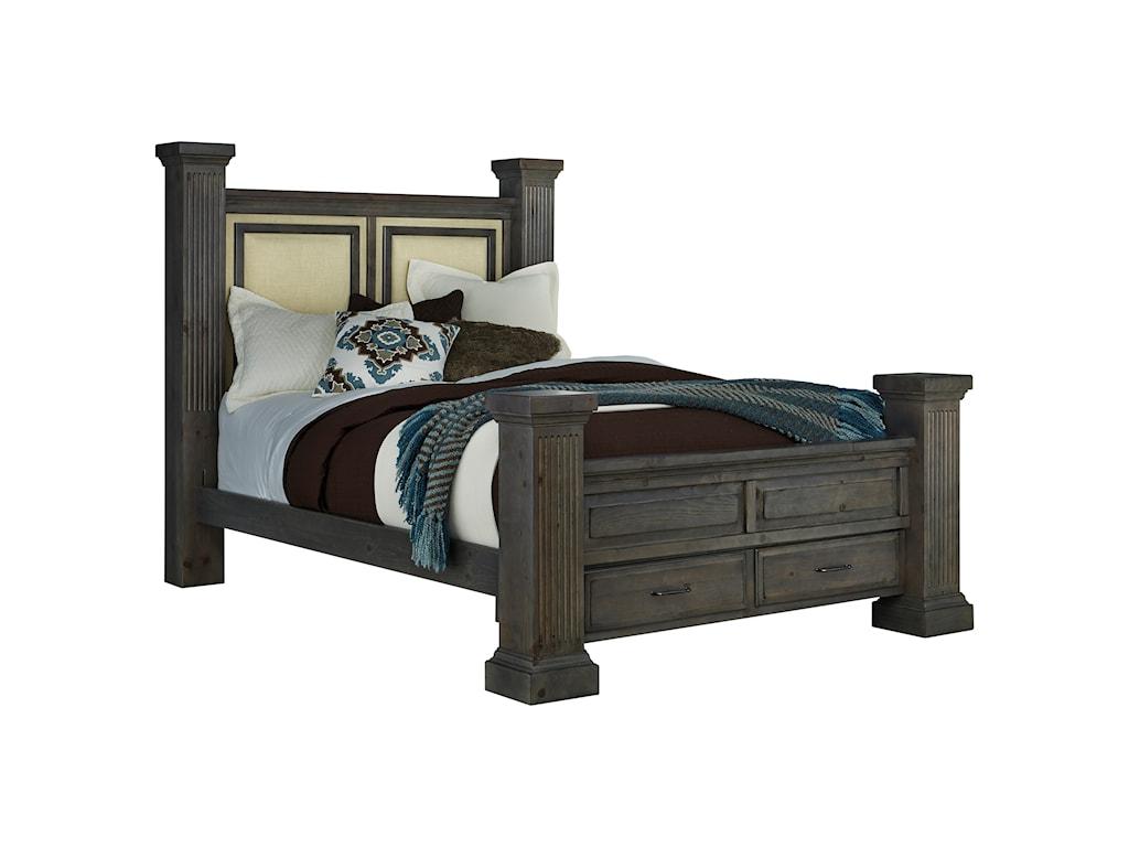 Progressive Furniture FordhamQueen Storage Bed