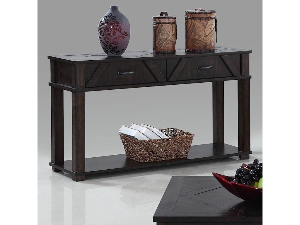 Progressive Furniture FoxcroftSofa/Console Table