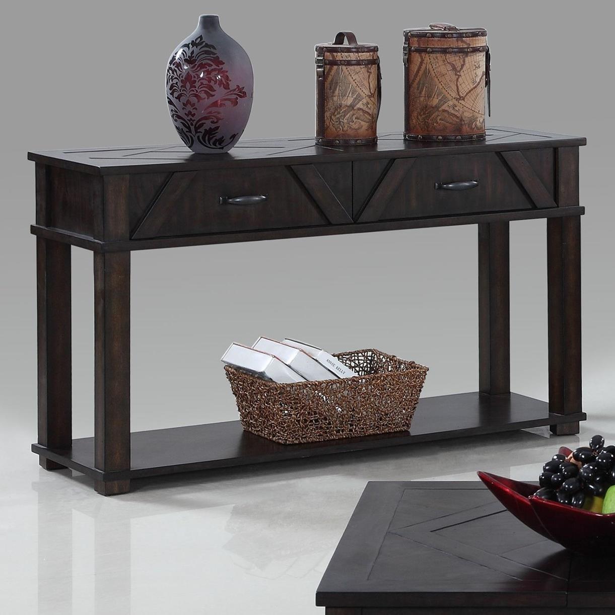 Progressive Furniture FoxcroftSofa/Console Table ...
