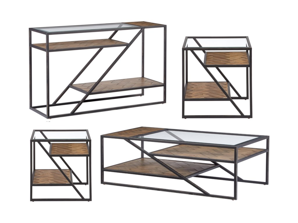 Progressive Furniture GalawayRectangular Cocktail Table