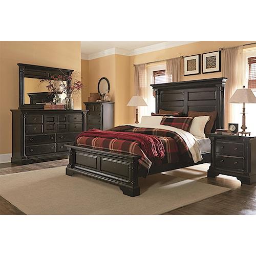 Progressive Furniture Gramercy Park King Bedroom Group