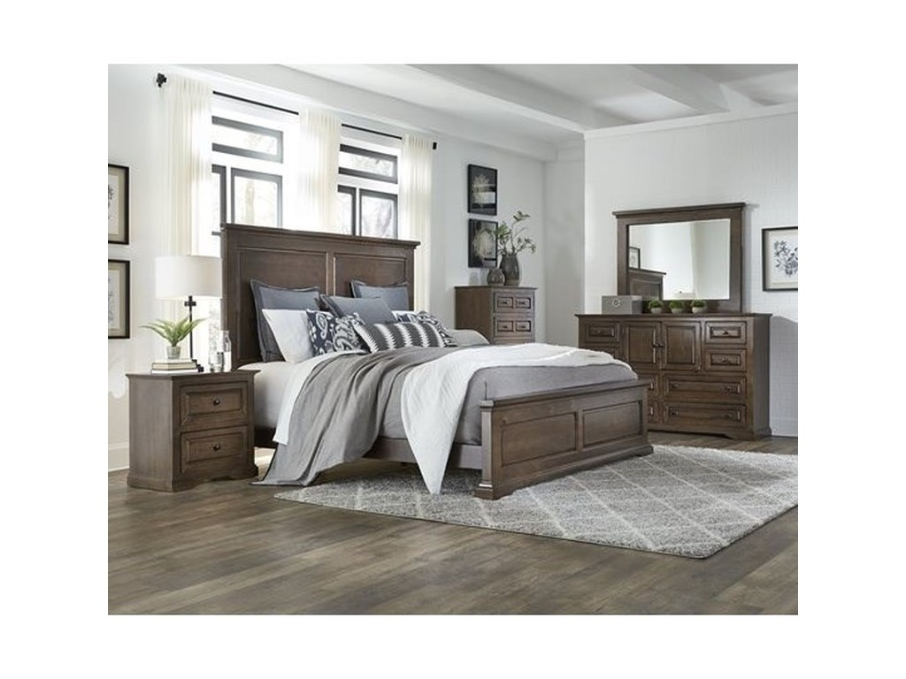 Progressive Furniture HamiltonQueen Panel Bed