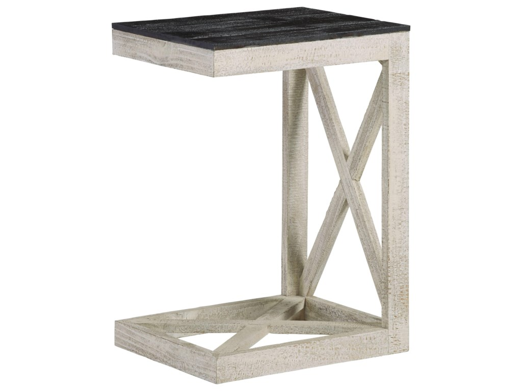 newest d2f06 4e56a Jules Modern Rustic C End Table by Progressive Furniture at Van Hill  Furniture