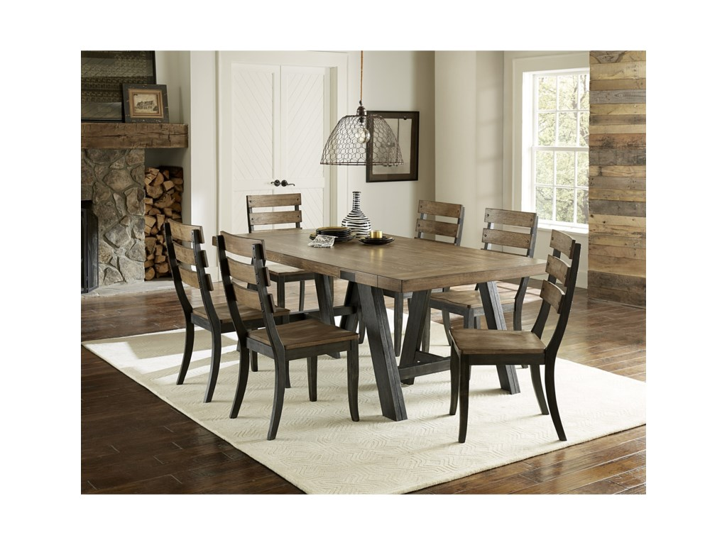 Progressive Furniture Klondike7-Piece Dining Set