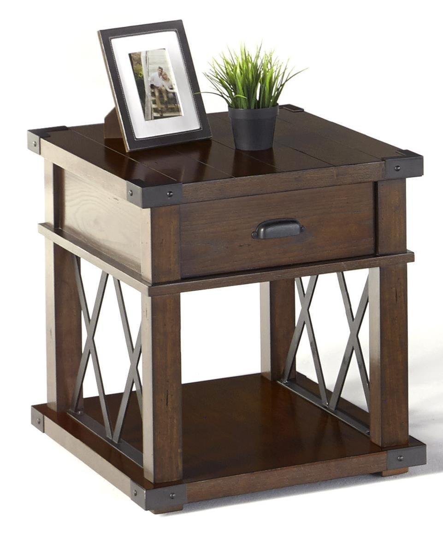 furniture motifs. Progressive Furniture LandmarkRectangular End Table Furniture Motifs E