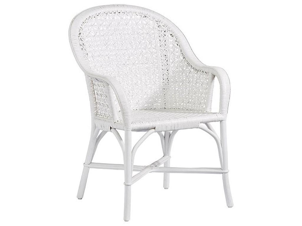 Progressive Furniture LouieAccent Arm Dining Chair