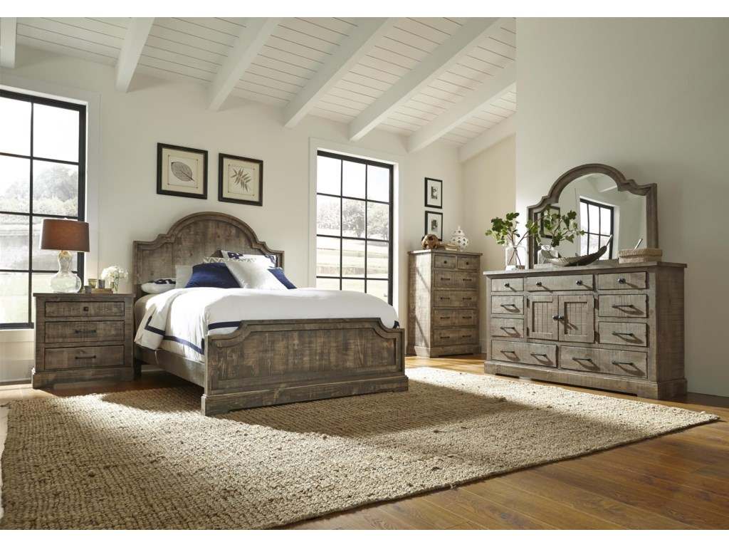 Progressive Furniture Meadow6 Piece King Bedroom Group