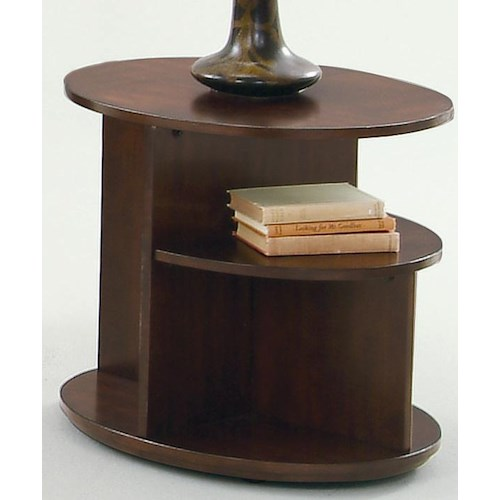 Progressive Furniture Metropolitan  Oval End Table