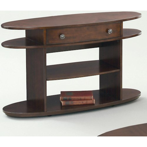 Progressive Furniture Metropolitan  Sofa Table w/ Drawer
