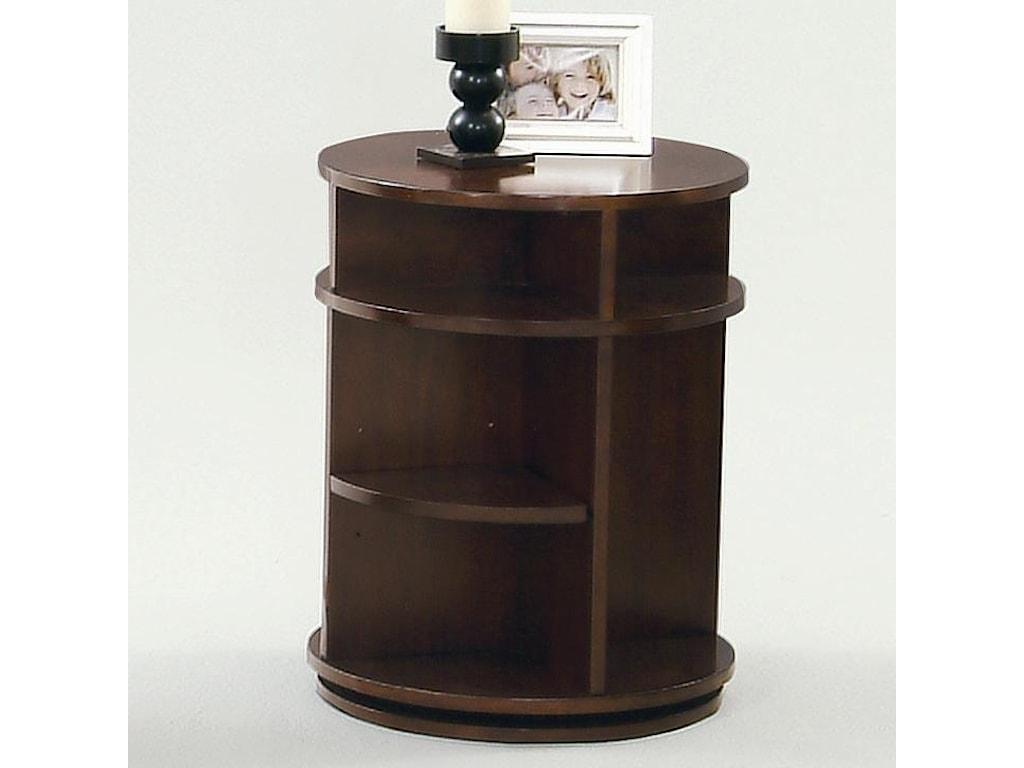 Progressive Furniture Metropolitan Swivel/Chairside Table