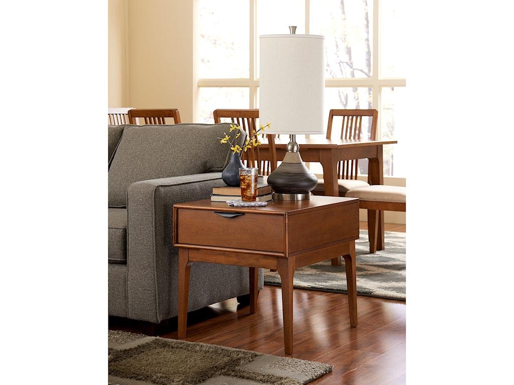 Progressive Furniture Mid-ModEnd Table
