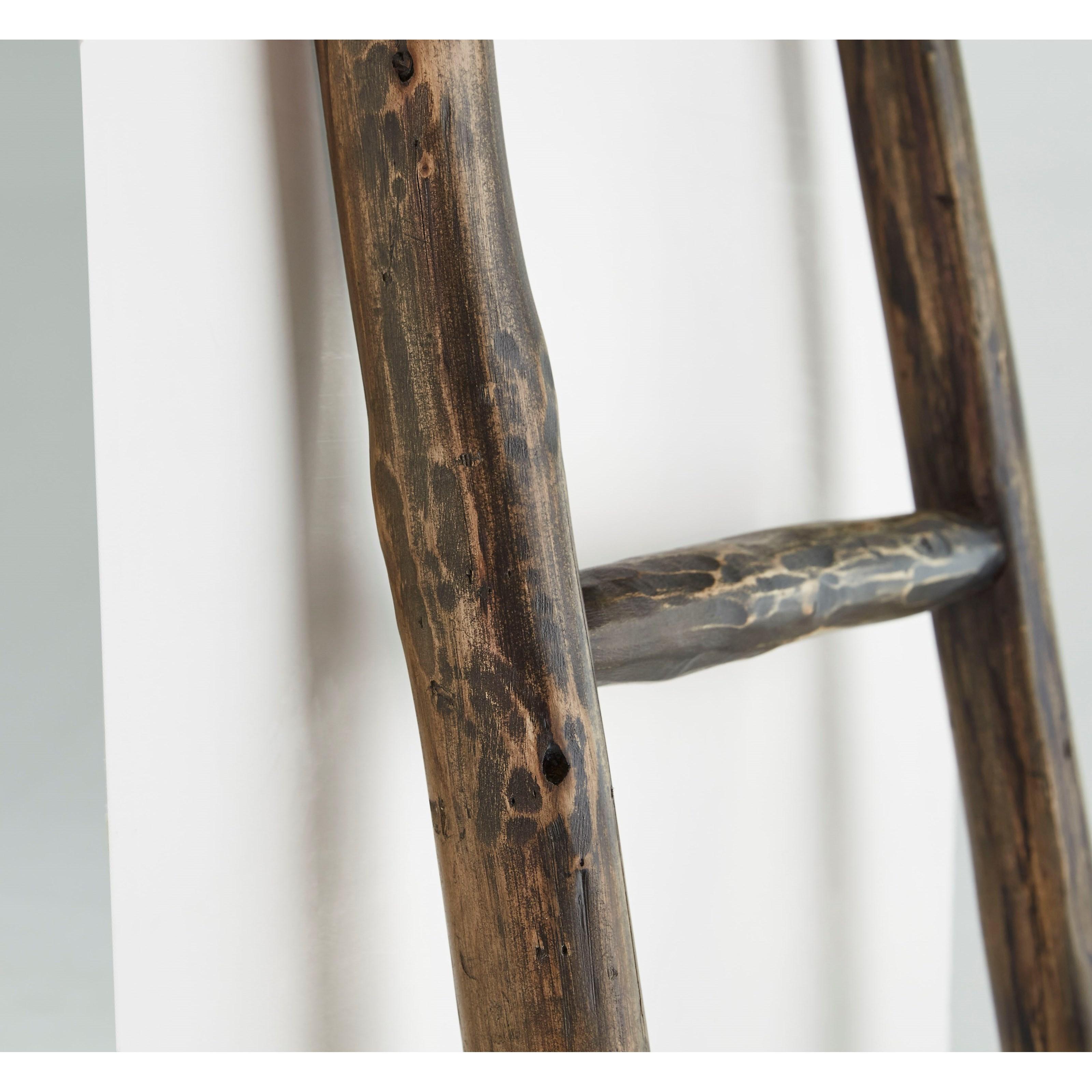 Progressive Furniture Millie French Roast White Blanket Ladder Wayside Furniture Miscellaneous Accessories