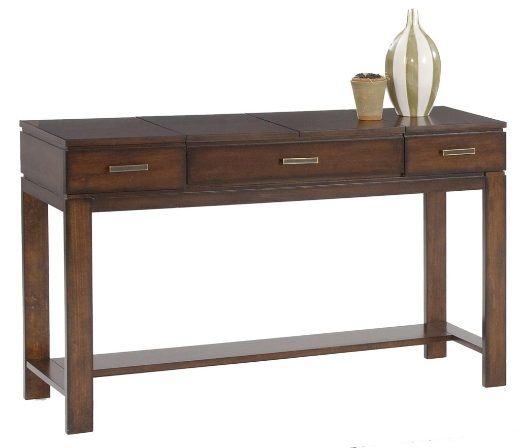Progressive Furniture Miramar Contemporary Sofa Table / Desk - Hudson's  Furniture - Console/Sofa Table