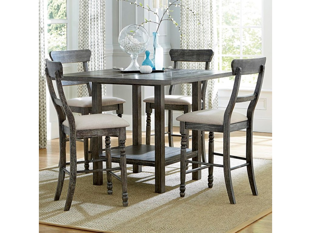 Progressive Furniture Muses5-Piece Counter Table Set