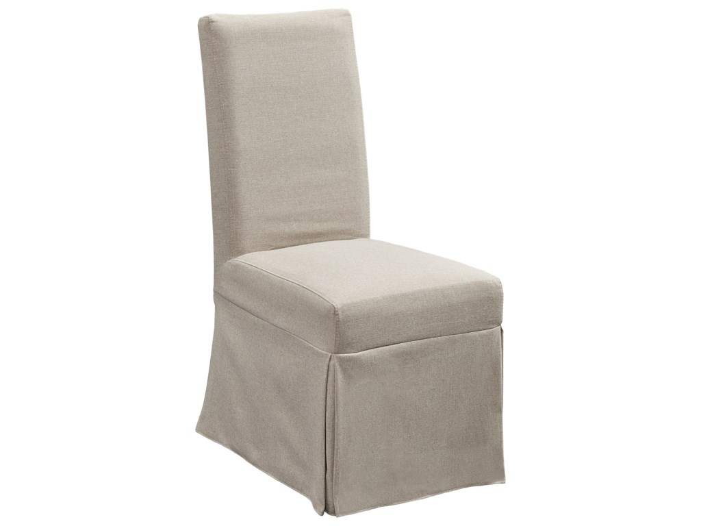 Progressive Furniture MusesUpholstered Parsons Chair w/ Cover