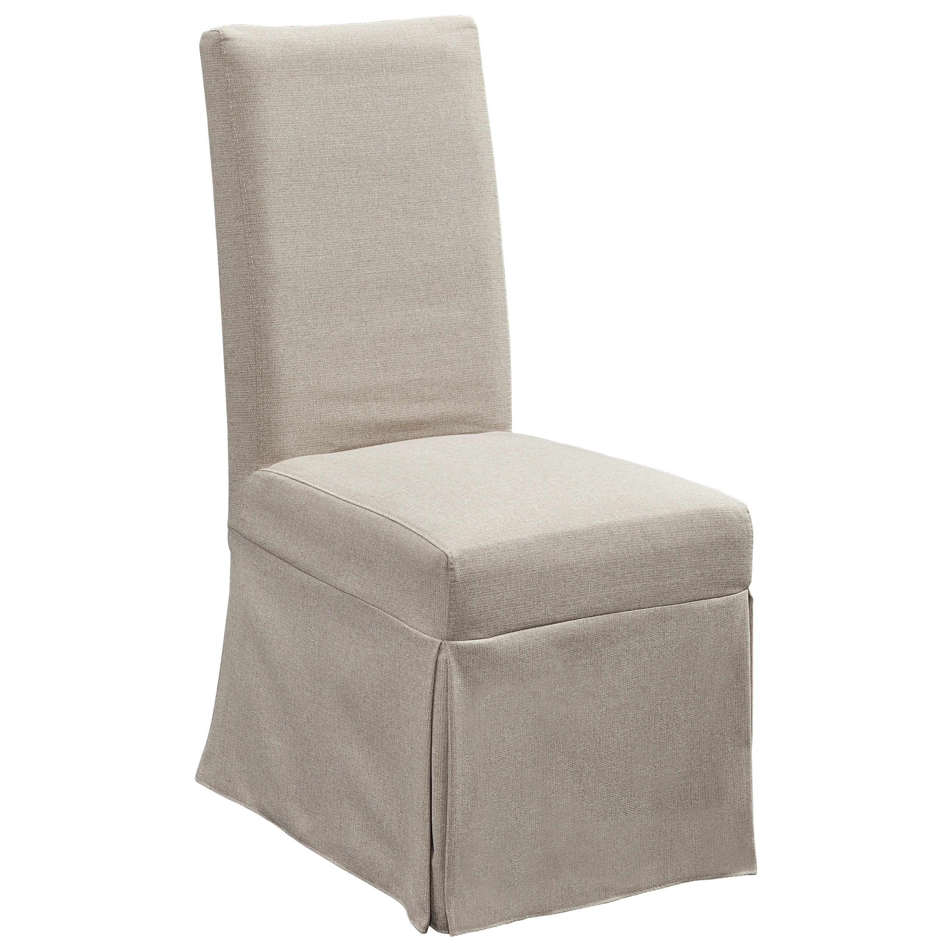 Progressive Furniture MusesUpholstered Parsons Chair W/ Cover ...