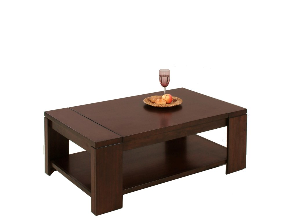 Progressive Furniture WaverlyRectangular Cocktail Table
