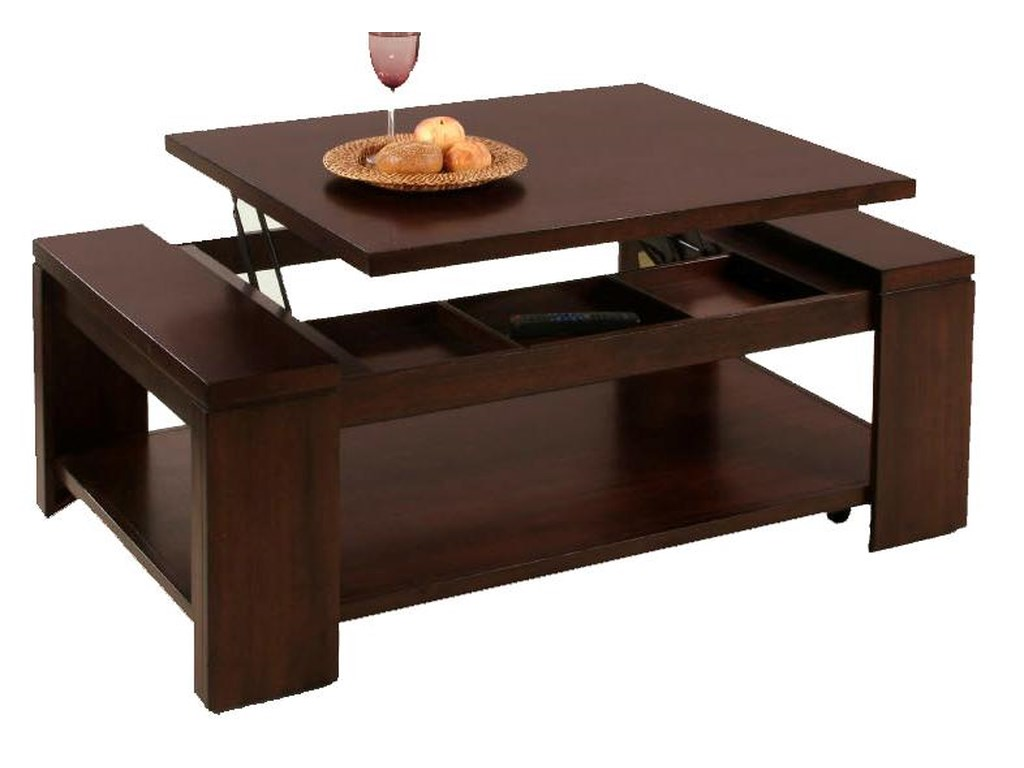 Progressive Furniture WaverlyLift-Top Cocktail Table