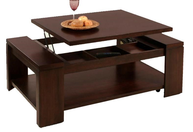 Progressive Furniture Waverly Contemporary Lift Top Cocktail Table
