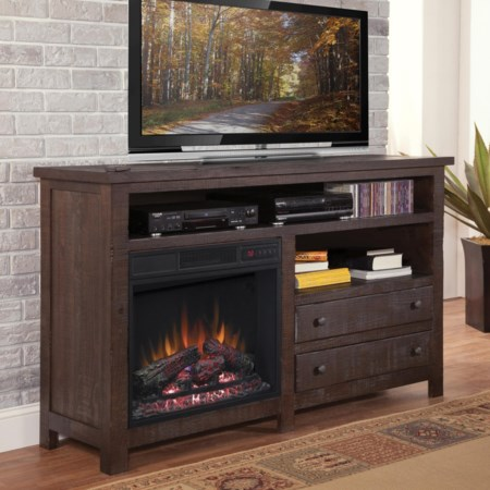 """60"""" Console/Fireplace"""