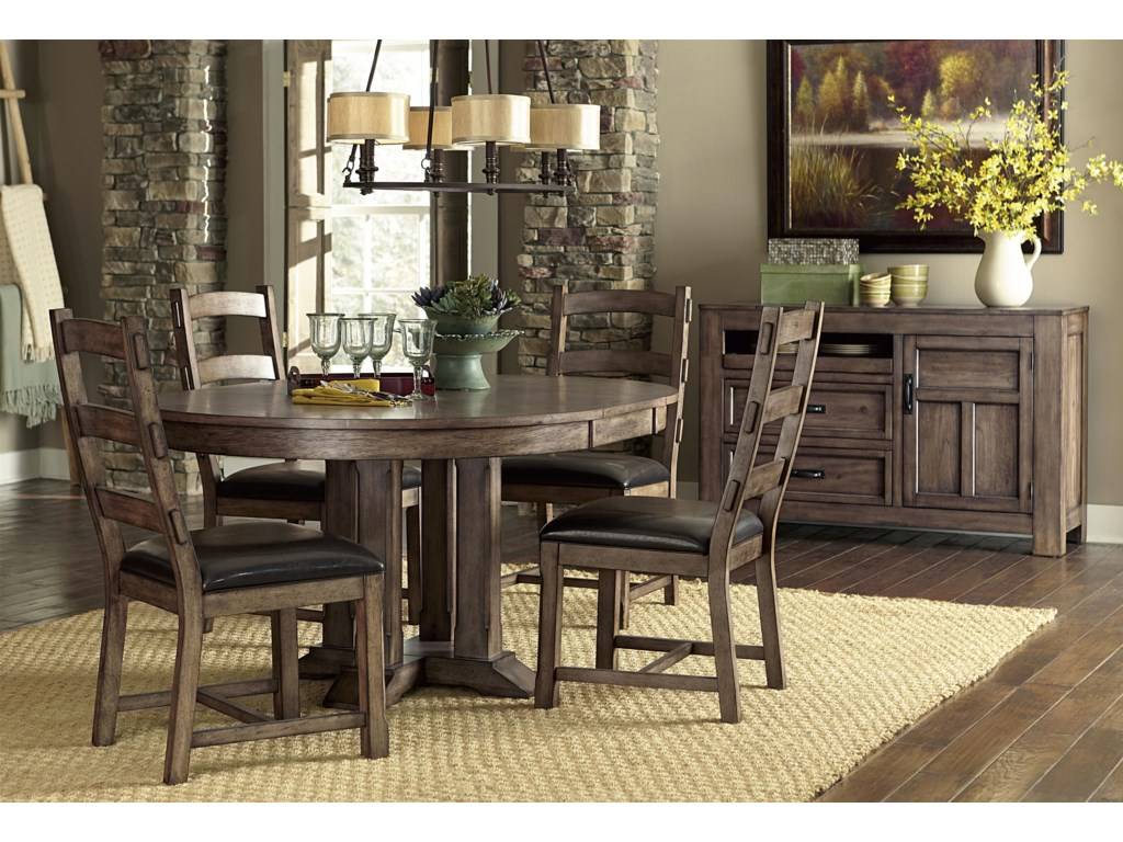 Dining Height Table Shown