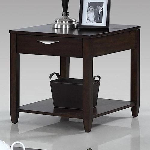 Progressive Furniture Paladium Rectangular End Table