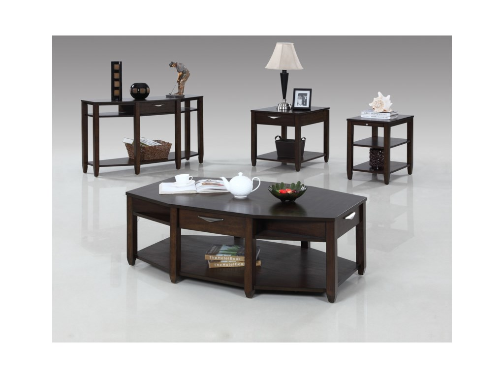 Progressive Furniture PaladiumRectangular End Table