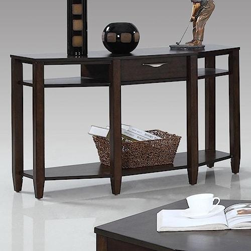Progressive Furniture Paladium Sofa/Console Table