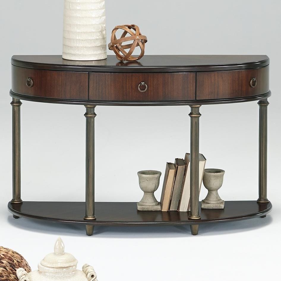 Progressive Furniture Regent Court Demilune Sofa/Console Table