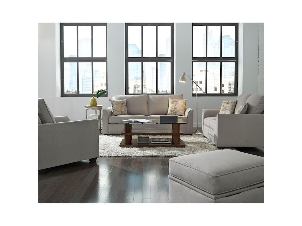 Progressive Furniture RemiStationary Living Room Group