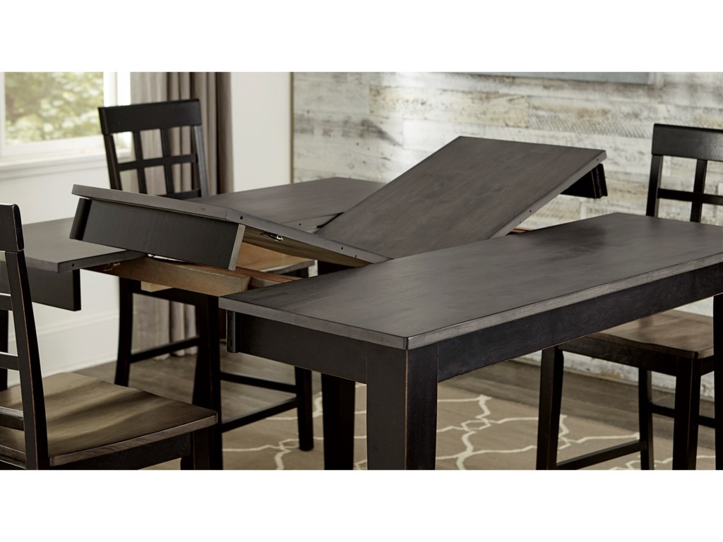 Progressive Furniture Salem7-Piece Dining Table Set