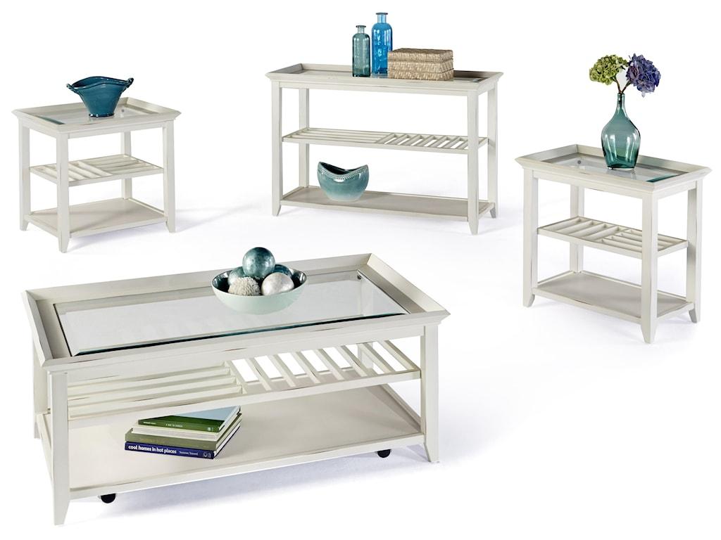 Progressive Furniture Sandpiper IISofa/Console Table