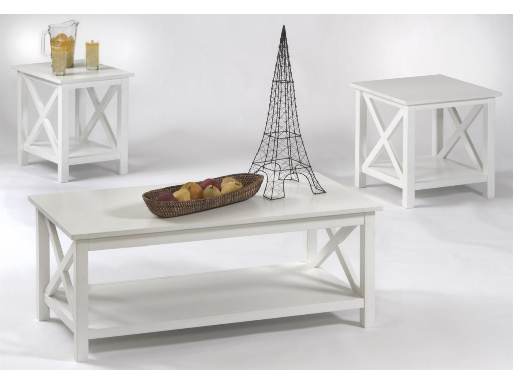 Progressive Furniture Seascape I3 Pack Table Group