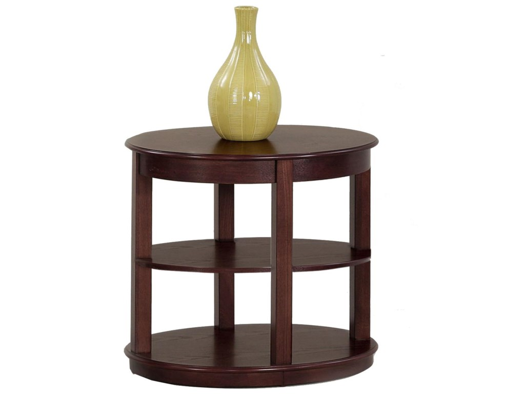 Progressive Furniture SebringOval End Table