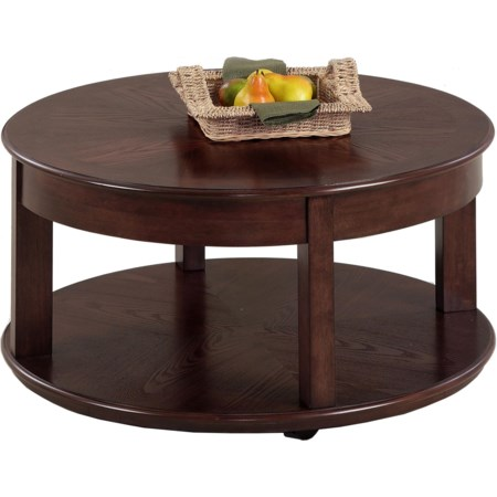 Castered Round Cocktail Table