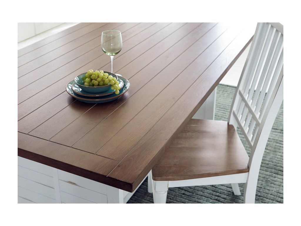 Progressive Furniture Shutters Dining Table