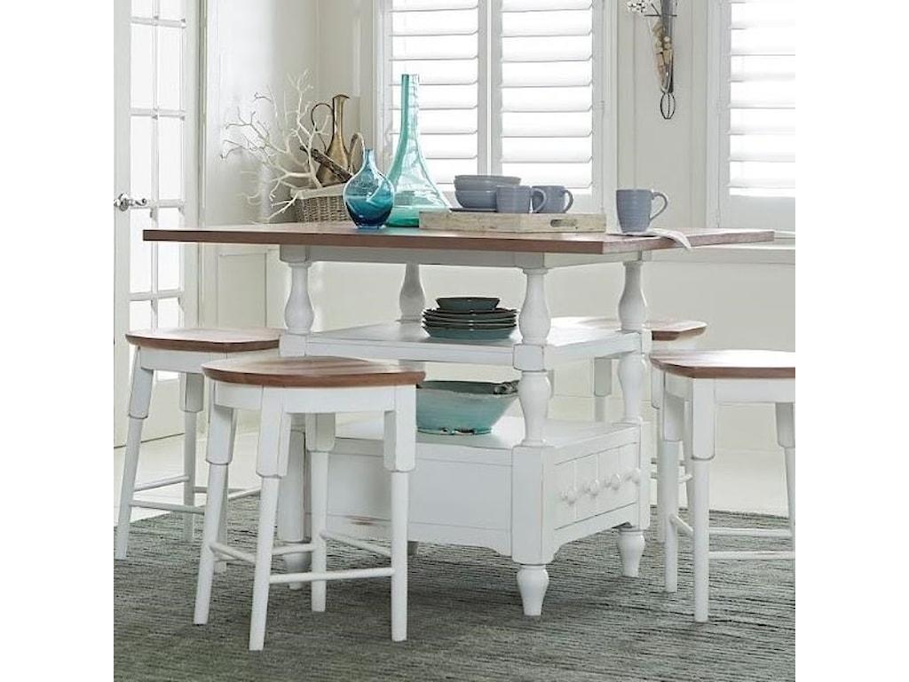 Progressive Furniture Shutters Counter Table