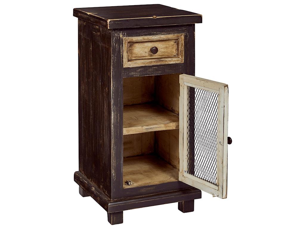 Progressive Furniture StellaChairside Cabinet