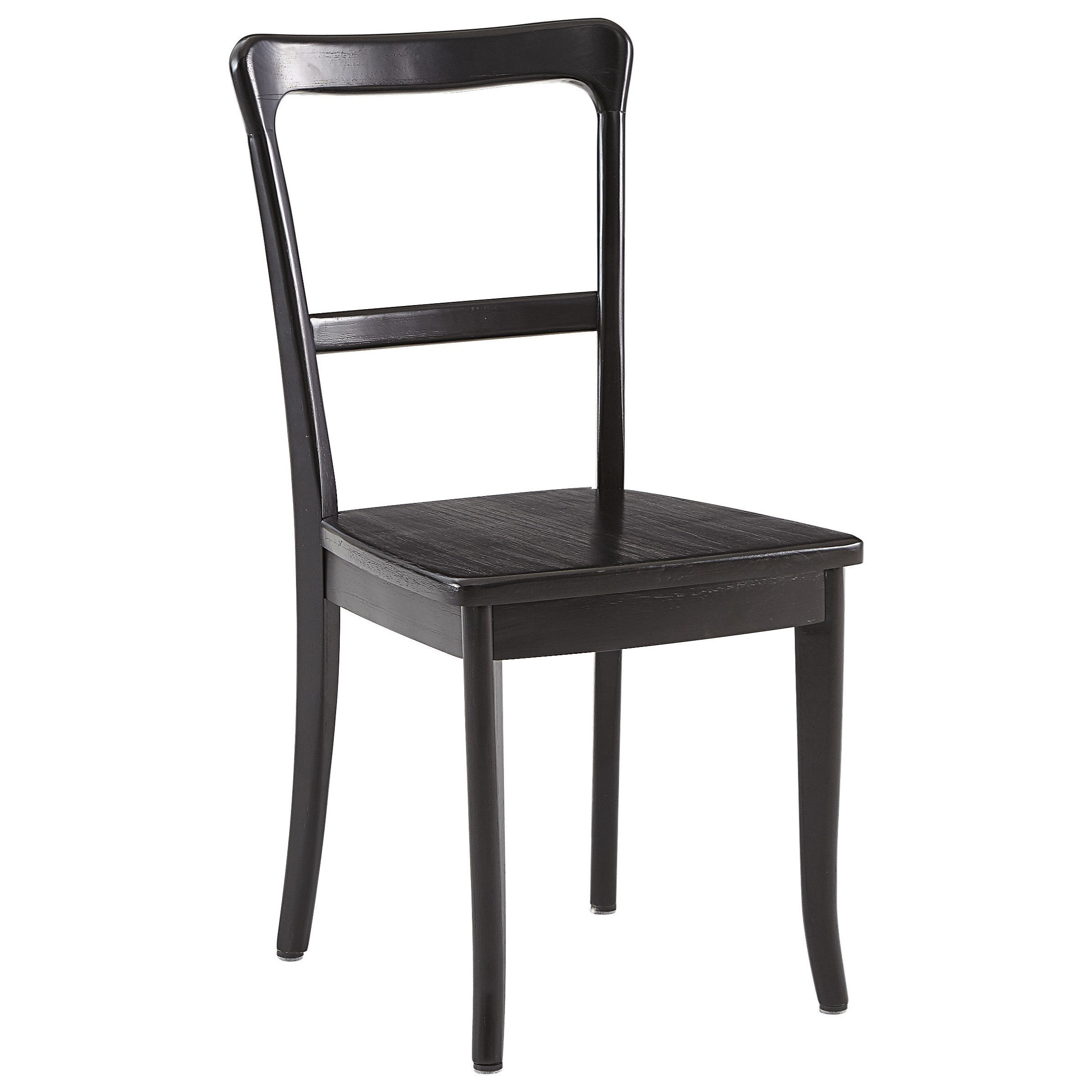 Progressive Furniture Teresa Rustic Dining Side Chair with Black Finish  sc 1 st  Van Hill Furniture & Progressive Furniture Teresa Rustic Dining Side Chair with Black ...